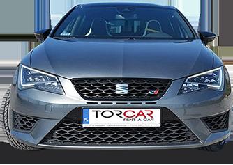 Samochód z nazwą firmy TorCar